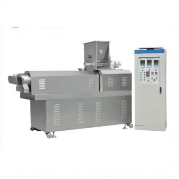Fried Crispy Chips Pellet Snack Foods Extrusion Making Machine