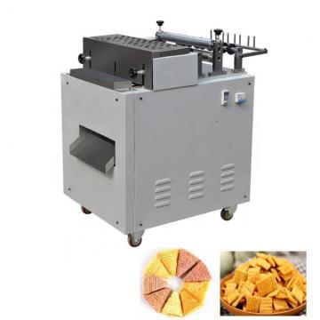 Triangle chip crispy fried rice snacks making machine