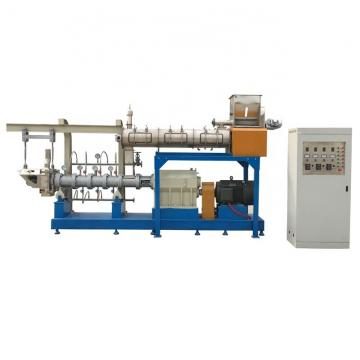 High quality dry animal pet dog food pellet processing extruder machine