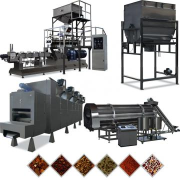 Pet Food Extruder Machine Puffing Snack / Dog Food Processing Plant