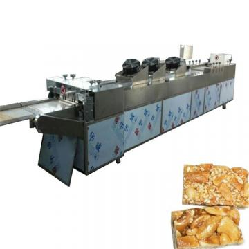 Fruit nut cereal candy bar snack cutting making machine / automatic candy food cutting forming machine / cruchy candy machine