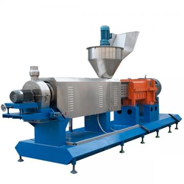 High quality fish feed pellet extruder processing line