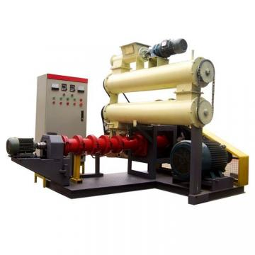 Floating fish feed pellet extruder machine/pet food machine floating fish feed extruder