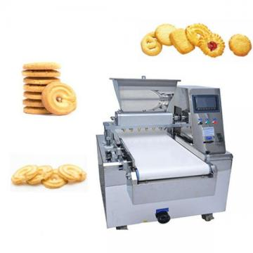 Automatic Cookies Biscuit Making Machine PLC Macaron Making Production Line For Sale