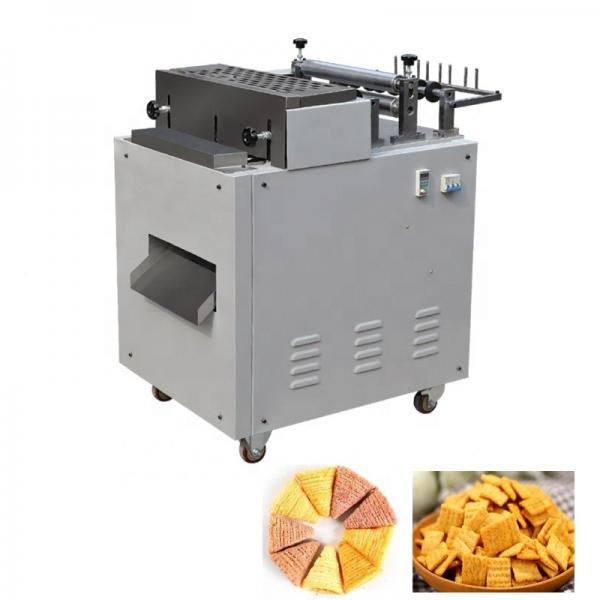 Industry Fried Wheat Flour Snack Making Machine / Crispy Chips / Bugles / Rice Crust Process Line #1 image